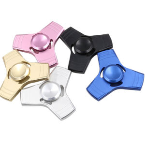 Hand Spinner Aluminum Alloy Fidget Toy Anxiety Stress Adults Kid Metal Spinner pictures & photos