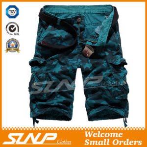 100% Cotton Camouflage Cargo Trousers for Men