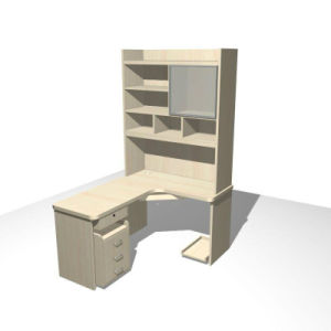 Attractive Combination Bookcase Desk Household pictures & photos