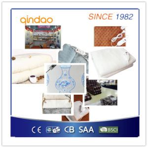 Hot Sale Ce/GS/CB/BSCI Approved Washable Electric Heating Blanket pictures & photos