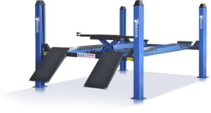 Pnematic Release Four Post Car Lift