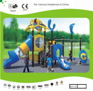 Kaiqi Climbing and Slide Set for Children′s Playground (KQ30131A) pictures & photos