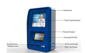 Touch All in One Kiosk Wall Self Payment Kiosk with Passport Reader pictures & photos