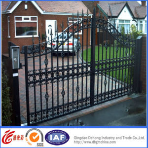 Elegant Wrought Iron Residential Security Gate pictures & photos
