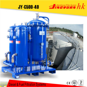Diesel Refinery with Polymer Membrane Filter Element