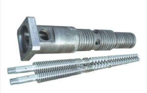 Extruder Twin Screw Barrel Extrusion Screw Barrel Double Conical Screws Barrel