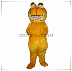 Cool Cat Garfield Cartoon Character Mascot Good Quality