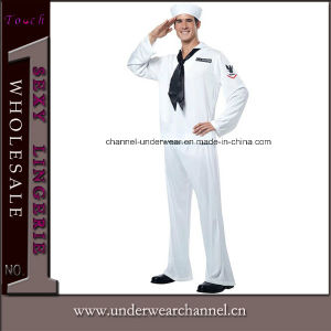 Adult Navy Uniform Sexy Men Halloween Costume (5841) pictures & photos