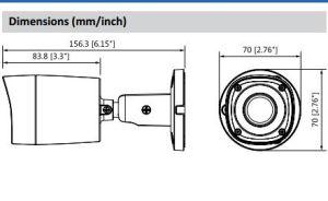 2MP Hdcvi IR Bullet CCTV Dahua Digital Video Camera (HAC-HFW1200RM) pictures & photos