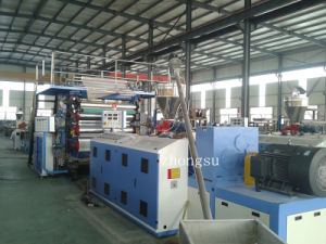 High Efficiency PVC Marble Sheet Extrusion Machine / PVC Marble Sheet Extrusion Line pictures & photos