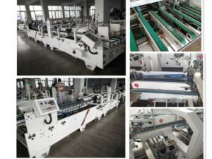 Automatic Corrugated and Cardboard Folder Gluer Machine with Bottom Lock pictures & photos