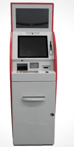 Photo Printing Booth Terminal Barcode Scanner Information Digital Kiosk pictures & photos