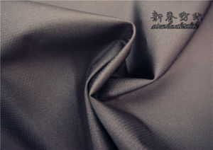 Polyester Pongee Dobby Fabric with PU pictures & photos