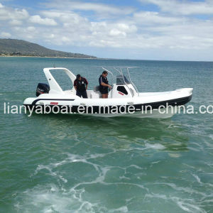Liya 16passengers Rigid Hull Inflatable Boat Hypalon PVC Inflatable Rib Boat pictures & photos