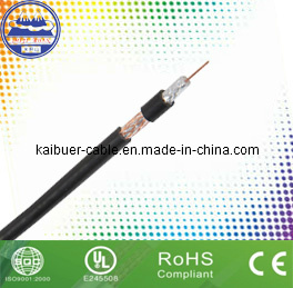 CCTV CATV Rg59 Communication Coaxial Cable with CE RoHS pictures & photos
