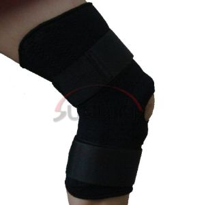 Durable Neoprene Knee Support with Spring (NS0016) pictures & photos