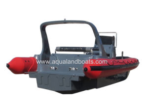 Aqualand 35feet 10.5m Military Rib Boat/Rigid Inflatable Rescue Boat (RIB1050) pictures & photos