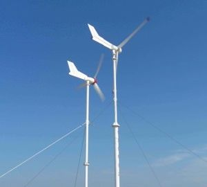 3kw Horizontal Wind Turbine System with Brake System pictures & photos