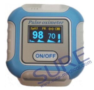 Bluetooth 4.0 Wrist Pulse Oximeter, Watch Phone Oximeter, SpO2 Monitor Blood Oxygen, Saturation Heart Rate CE Approved pictures & photos