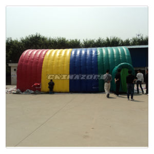 Colorful PVC Tarpaulin Inflatable Big Tent From Factory Directly