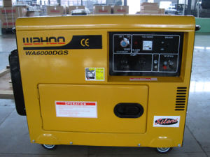 CE Certificate China Factory 5kw Silent Diesel Generator (WH5500DGS) pictures & photos