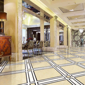 Various Styles Smooth Porcelain Floor Tile Look Like Marble pictures & photos