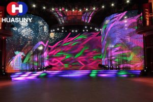 Creative LED Strip Screen for Stage Decoration with HD Quality pictures & photos