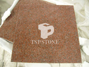Impala Red Granite Tile with Calibrated on Thickness pictures & photos