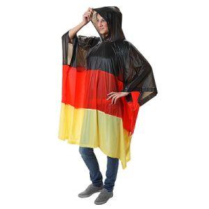 Flag Rain Poncho PVC Rain Poncho