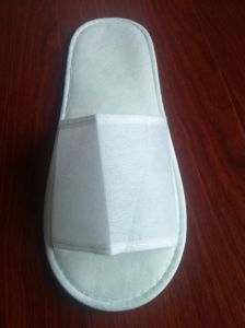 Non-Woven Material Disposable Hotel Slipper (SLP001)