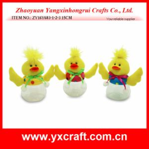 Easter Decoration (ZY16Y683-1-2-3 15CM) Easter Kitchen Bottle Decoration Easter Chick pictures & photos