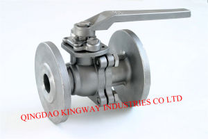 Stainless Steel 2-PC Flanged Ball Valve