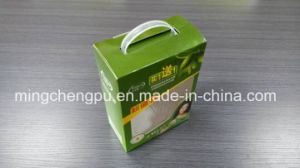 Printed Paper Box with Plastic Handle (with Window)