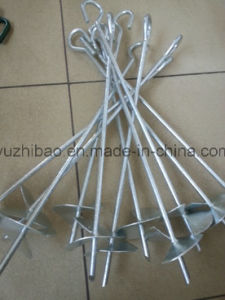 Galvanized Ground Anchor, Power Coated Ground Anchor pictures & photos