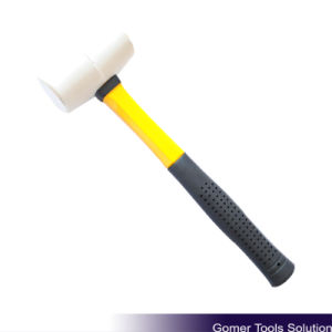 Rubber Mallet with Fiberglass Handle (T05070)