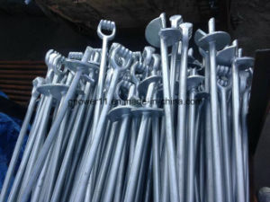 Power Line Fitting Earth Screw Anchor Rod pictures & photos