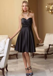Black Sexy Homecoming Fashion Dresses (FD3015) pictures & photos