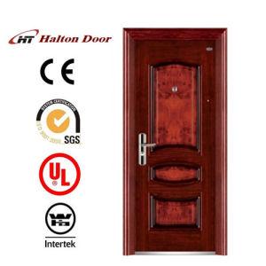 Security Steel Door with Strong Steel Sheet