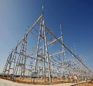 400kv Transformer Substation Structure