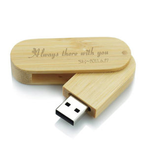Wooden Twister USB Bamboo Twister USB 8GB pictures & photos