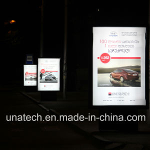 Outdoor Indoor Bus Stop Advertising Media Flex Aluminium LED Back Light Box Display pictures & photos