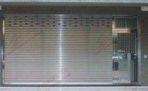 Automatic Stainless Steel Roller Shutter Door (BHS-SD07) pictures & photos