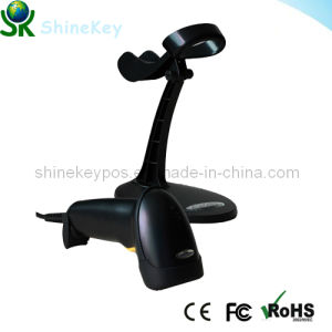 Automatic Laser Barcode Scanner (SK 9800 with stand) pictures & photos