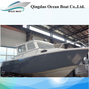7.5m Lifestyle Europe Design Professional Fishing Trawler Boat with Outboard Engine pictures & photos