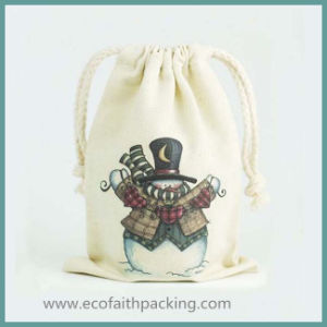 Durable Cotton Drawstring Gift Pouch
