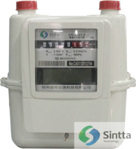 IC Card Prepaid Gas Meter (CG-L-G1.6/CG-L-G2.5/CG-L-G4)