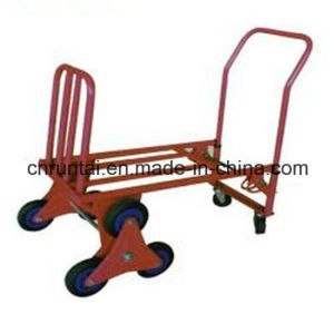 Hot Sale Factory Price Eight Wheel Stair Hand Trolley pictures & photos