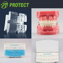 Dental Azdent Orthodontic Ceramic Brackets with Slot 0.018/0.022