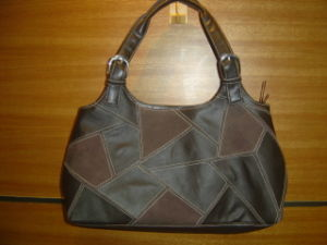 Patchwork Leather Women′s Handbag (DS251112)
