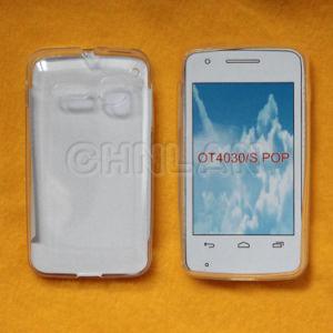 Hot Selling Mobile Phone Case Clear Full Transparent for Alcatel Ot4030 S Pop